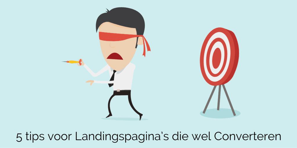5 tips voor landingspagina's die wel converteren