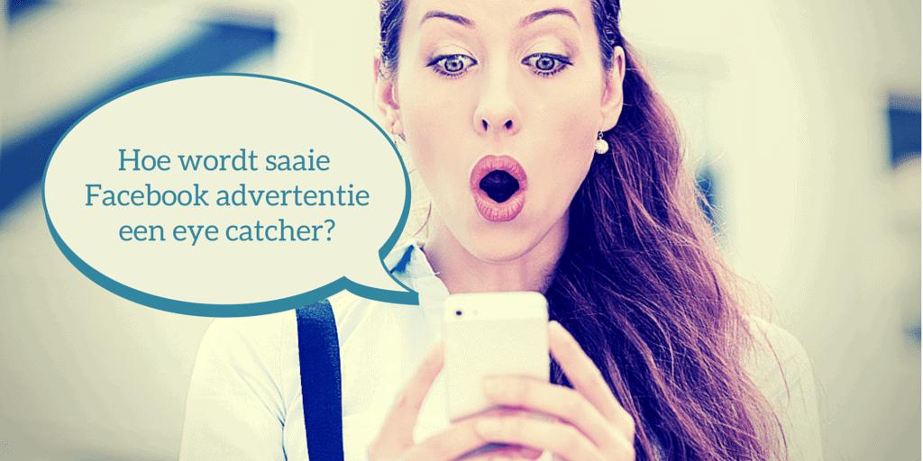Hoe wordt saaie facebook-advertentie een eye catcher