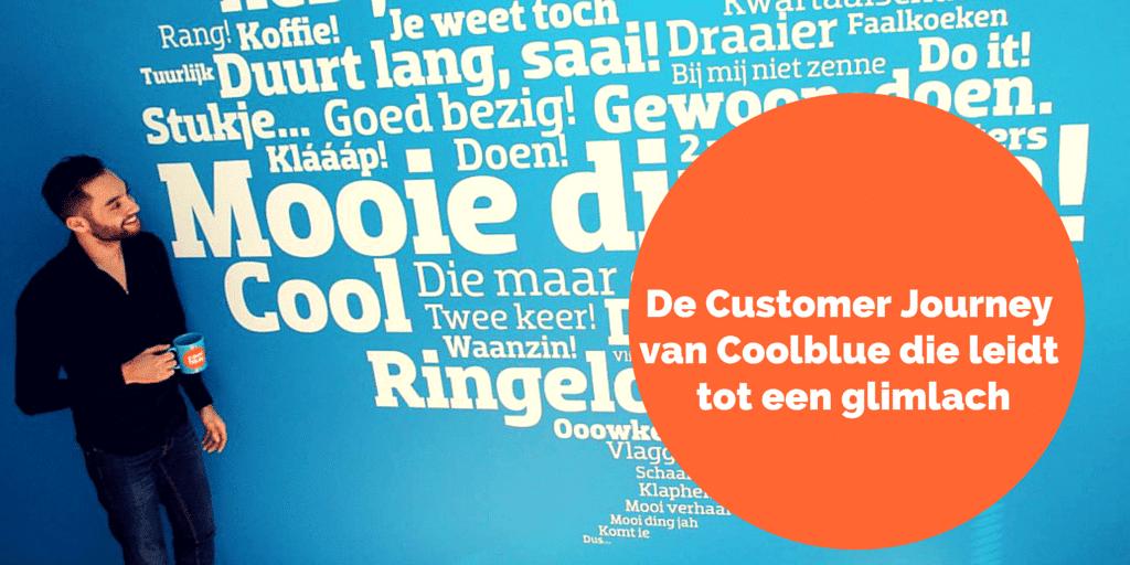 De Customer Journey van Coolblue die leidt tot een glimlach