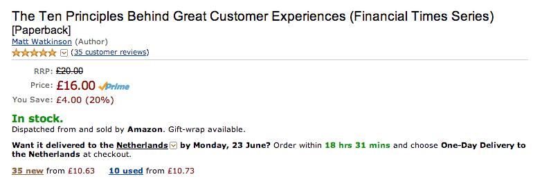 Amazon - Prijsvergelijking