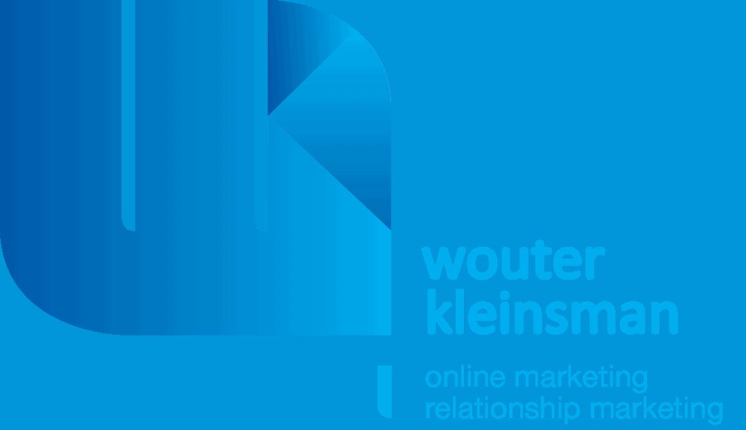 Huisstijl log van Wouter Kleinsman Online Marketing