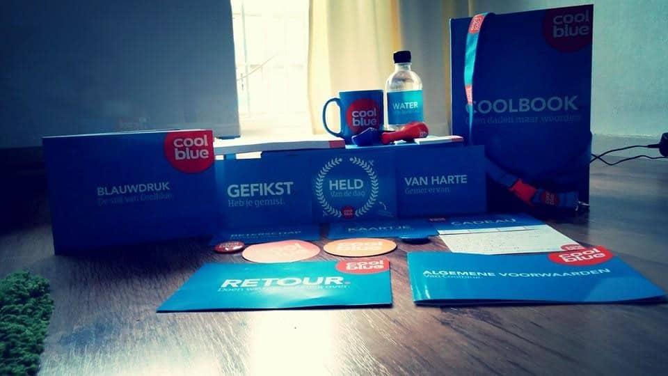 coolblue cadeau pakketje