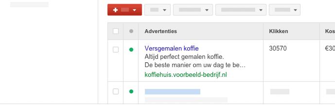 google advertentie opmaken