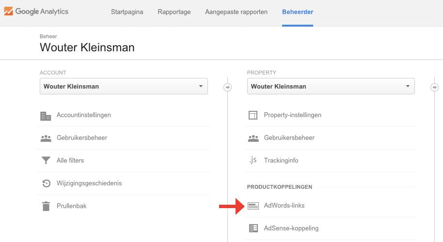 google-adwords-en-google-analytics-koppelen