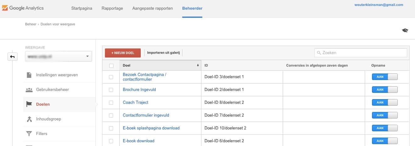 google-analytics---doelen-definieren