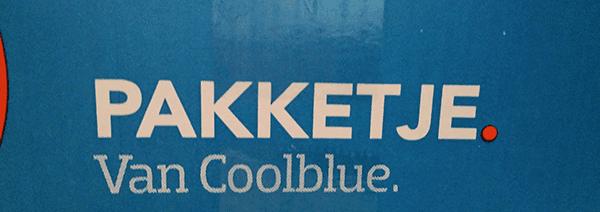 Pakketje van Coolblue